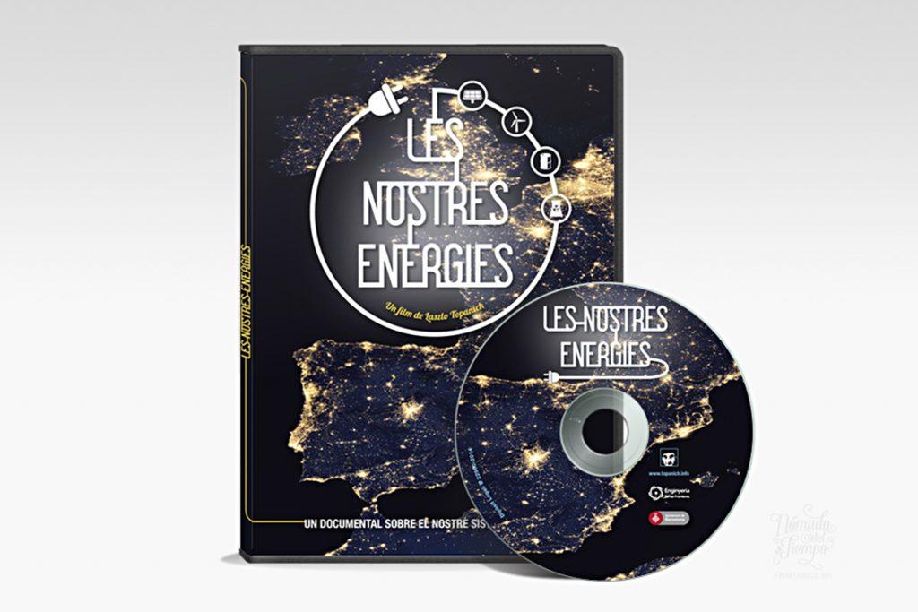 """""""Les nostres energies"""", de Laszlo Topanich Films y Enginyeria sense fronteres, 2014. Ilustración y Diseño gráfico"""