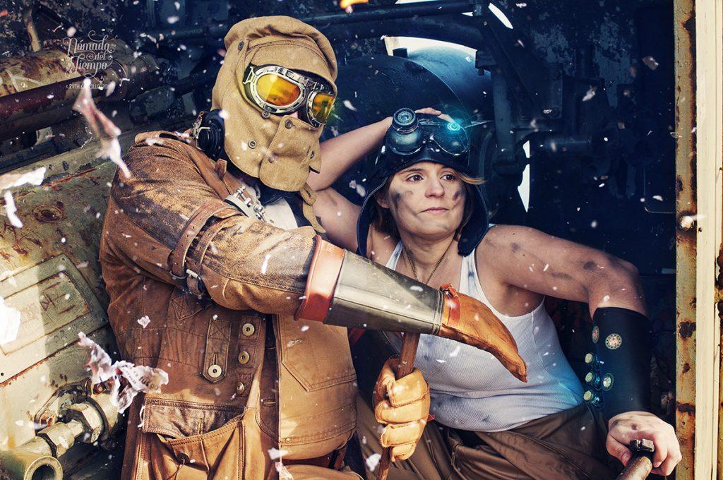 """""""Dieselpunk"""", con Patricia y David"""