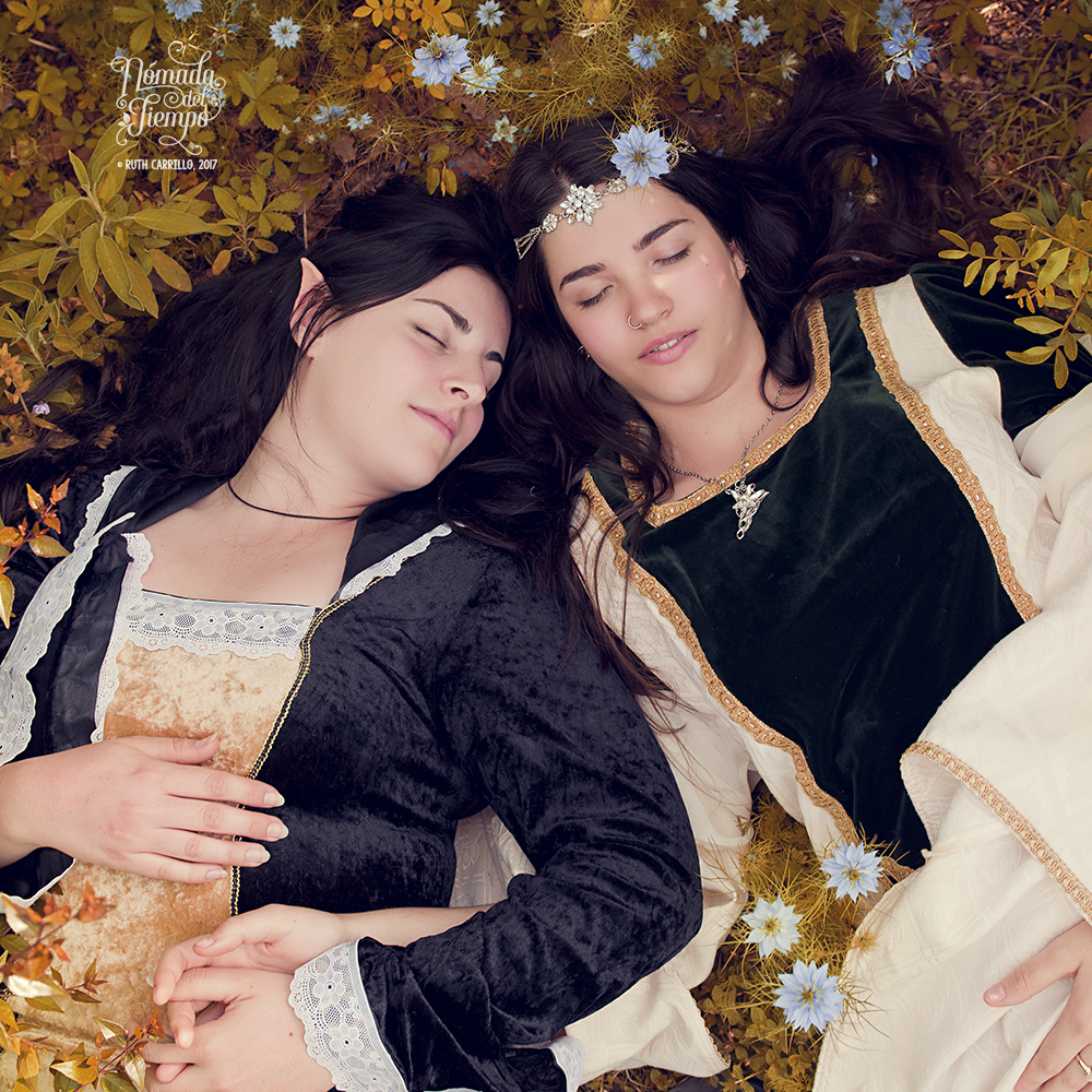 """""""Elfas"""", evento BCN Cosplay, con Clara e Irene"""