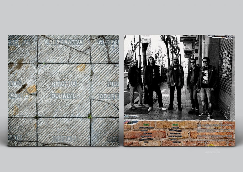 """Brigada Cobalto, """"Brigada Cobalto"""", 2013. Fotografía de portada y maquetación"""